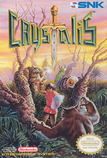 Box art for the game Crystalis