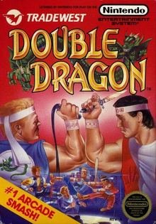 Box art for the game Double Dragon