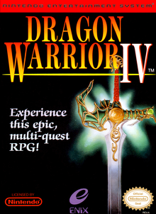 Box art for the game Dragon Warrior IV
