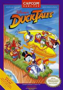 Box art for the game DuckTales