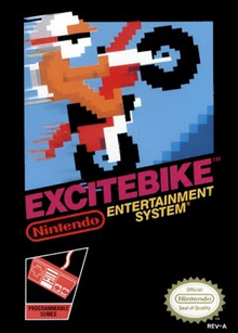 Box art for the game Excitebike