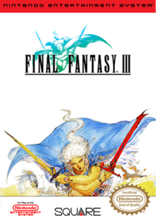 Box art for the game Final Fantasy III