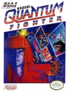Box art for the game Kabuki Quantum Fighter
