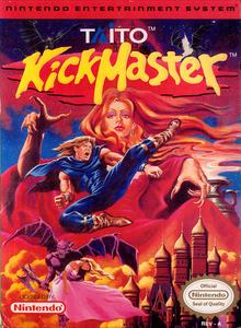 Box art for the game Kick Master