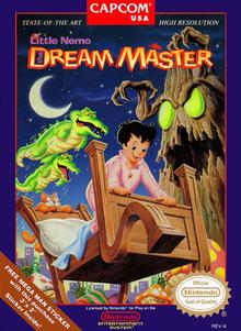 Box art for the game Little Nemo: The Dream Master