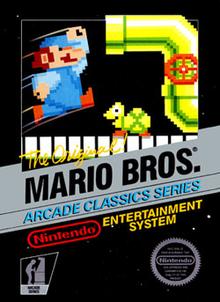 Box art for the game Mario Bros.
