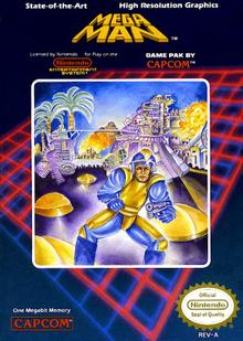 Box art for the game Mega Man