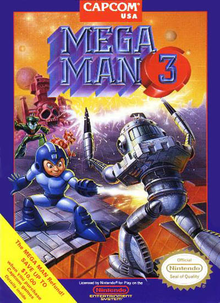 Box art for the game Mega Man 3