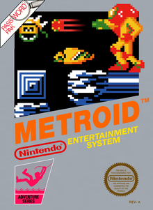 Box art for the game Metroid
