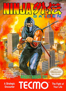 Box art for the game Ninja Gaiden