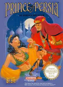 Box art for the game Prince of Persia (1992)