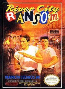 Box art for the game River City Ransom