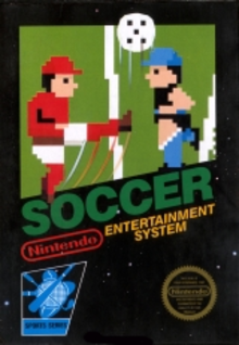 Box art for the game Soccer