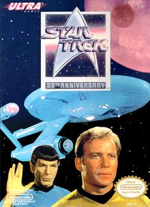 Box art for the game Star Trek: 25th Anniversary
