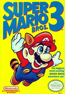 Box art for the game Super Mario Bros. 3