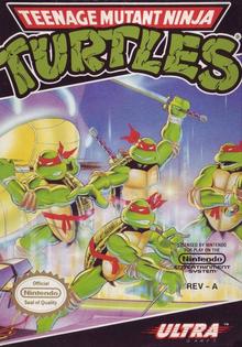 Box art for the game Teenage Mutant Ninja Turtles (1989)