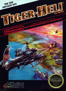 Box art for the game Tiger-Heli