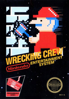 Box art for the game Wrecking Crew