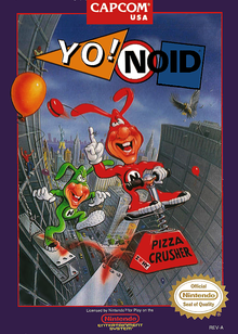 Box art for the game Yo! Noid