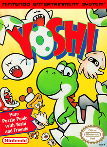 Box art for the game Yoshi