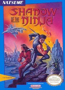 Box art for the game Shadow of the Ninja