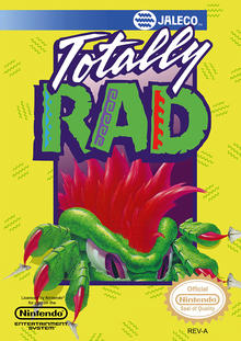 Box art for the game Totally Rad