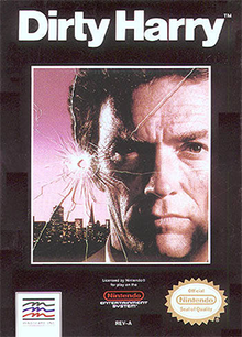 Box art for the game Dirty Harry