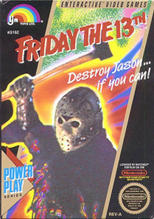 Box art for the game Friday the 13th