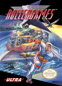 Box art for the game Rollergames