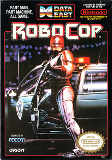 Box art for the game Robocop