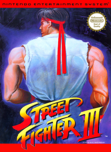 Box art for the game Street Fighter III (Unlicensed)