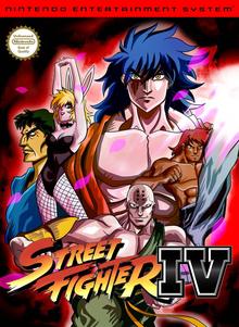 Box art for the game Street Fighter IV (Unlicensed)