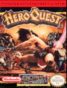 Box art for the game Hero Quest