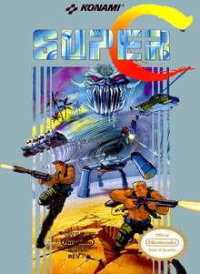 Box art for the game Super Contra