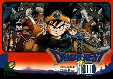 Capa do jogo Dragon Quest III