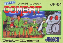 Box art for the game Field Combat