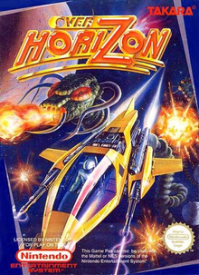 Box art for the game Over Horizon