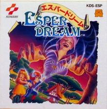 Box art for the game Esper Dream