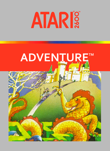 Box art for the game Adventure