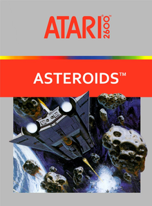 Box art for the game Asteroids (1981)