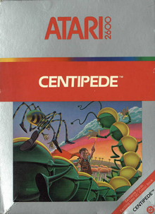 Box art for the game Centipede