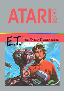 Box art for the game E.T. The Extra-Terrestrial