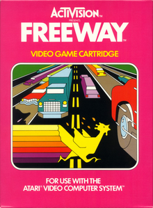 Box art for the game Freeway