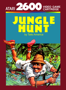 Box art for the game Jungle Hunt