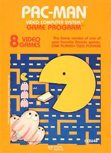 Box art for the game Pac-Man
