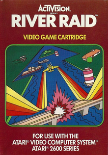 Box art for the game River Raid