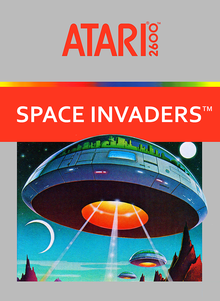 Box art for the game Space Invaders