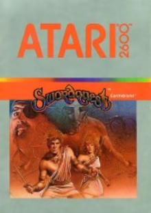 Box art for the game Swordquest Earthworld