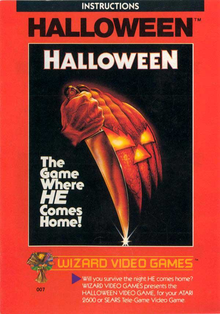 Box art for the game Halloween