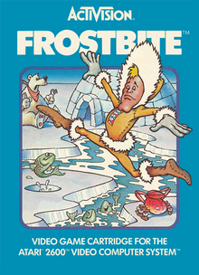 Box art for the game Frostbite